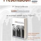 Presentación del primer número de la tercera época del Liceo Franciscano