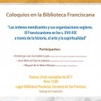 COLOQUIOS NA BIBLIOTECA FRANCISCANA DE SANTIAGO
