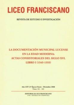 Revista Liceo Franciscano - Números 181-183