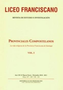 Revista Liceo Franciscano - Números 187-189