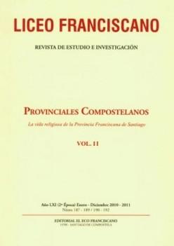 Revista Liceo Franciscano - Números 190-192